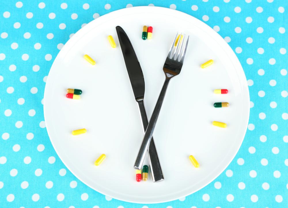 Control de los horarios de comida y medicación